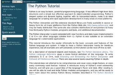http://docs.python.org/tutorial/index.html