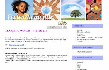 http://www.ecolesdumonde.com/french/learningworld.php