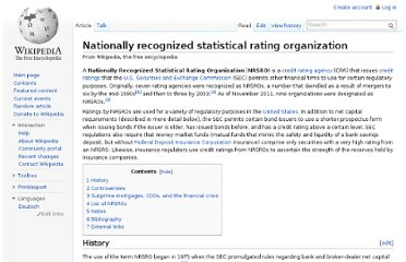 http://en.wikipedia.org/wiki/Nationally_recognized_statistical_rating_organization