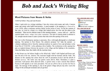 http://bobandjackswritingblog.com/bob-sez/word-pictures-from-nouns-and-verbs/