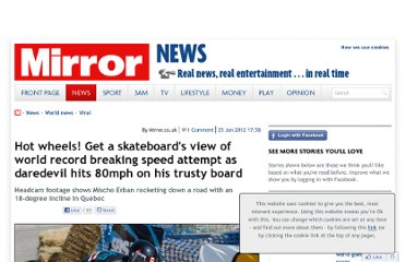 http://www.mirror.co.uk/news/world-news/video-skateboard-speed-world-record-939943