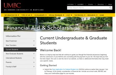 http://www.umbc.edu/financialaid/current_students.html