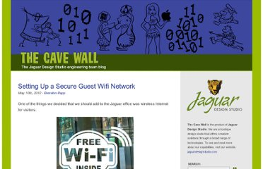 http://cavewall.jaguardesignstudio.com/2012/05/10/setting-up-a-secure-guest-wifi-network/