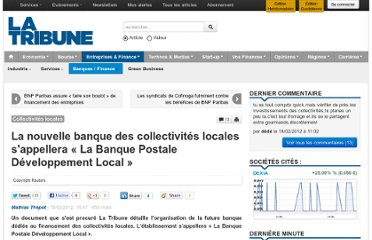http://www.latribune.fr/entreprises-finance/banques-finance/industrie-financiere/20120215trib000683239/-la-nouvelle-banque-des-collectivites-locales-s-appellera-la-banque-postale-developpement-local-.html