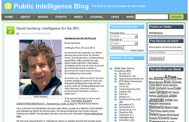 http://www.phibetaiota.net/2012/06/david-isenberg-intelligence-for-the-99/