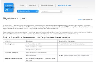 http://www.licencesnationales.fr/negociations-en-cours/