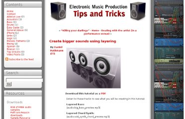 http://emusictips.com/2009/03/create-bigger-sounds-using-layering/