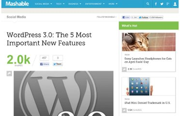 http://mashable.com/2010/05/10/new-features-wordpress-3/