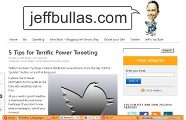 http://www.jeffbullas.com/2012/06/29/5-tips-for-terrific-power-tweeting/