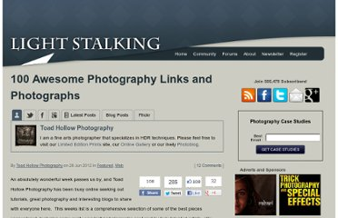 http://www.lightstalking.com/100-awesome-photography-links-and-photographs
