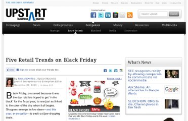 http://upstart.bizjournals.com/companies/rebel-brands/2011/11/22/five-black-friday-trends-that-will-impact-retailers.html