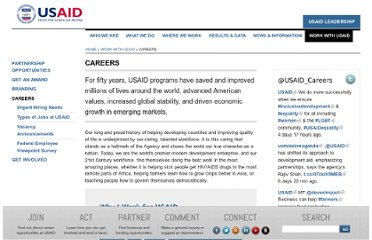 http://www.usaid.gov/careers