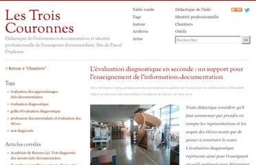 http://lestroiscouronnes.esmeree.fr/chantiers/l-evaluation-diagnostique-en-seconde-un-support-pour-l-enseignement-de-l-information-documentation