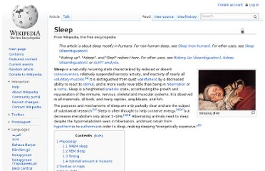 http://en.wikipedia.org/wiki/Sleep