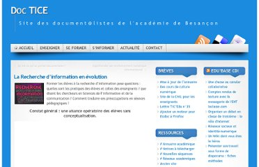http://missiontice.ac-besancon.fr/documentation/index.php/la-recherche-dinformation-en-evolution/