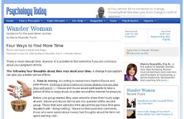 http://www.psychologytoday.com/blog/wander-woman/201206/four-ways-find-more-time