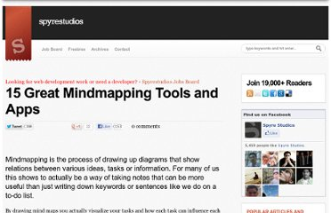 http://spyrestudios.com/15-great-mindmapping-tools-and-apps/