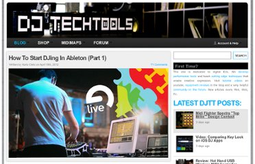 http://www.djtechtools.com/2012/04/18/how-to-start-djing-in-ableton-part-1/