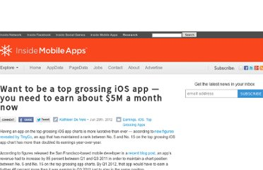 http://www.insidemobileapps.com/2012/06/29/want-to-be-a-top-grossing-ios-app-you-need-to-earn-about-5m-a-month-now/