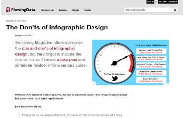 http://flowingdata.com/2011/10/19/the-donts-of-infographic-design/#more-19421