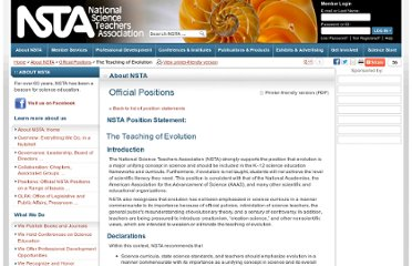 http://www.nsta.org/about/positions/evolution.aspx