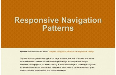 http://bradfrostweb.com/blog/web/responsive-nav-patterns/#footer-anchor