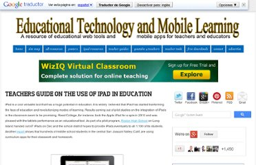 http://www.educatorstechnology.com/2012/06/teachers-guides-on-use-of-ipad-in.html