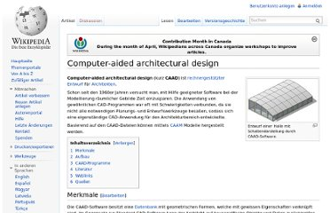 http://de.wikipedia.org/wiki/Computer-aided_architectural_design