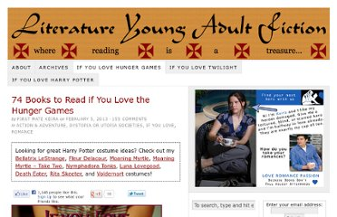 http://www.literatureyoungadultfiction.com/74-books-to-read-if-you-love-the-hunger-games/
