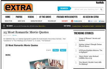 http://www.extratv.com/2010/05/15/25-most-romantic-movie-quotes/#more