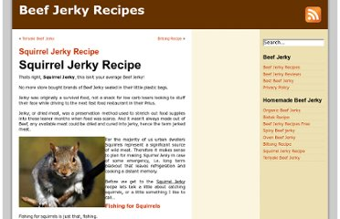 http://www.1beefjerky.com/squirrel-jerky-recipe/