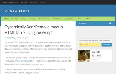 http://viralpatel.net/blogs/dynamically-add-remove-rows-in-html-table-using-javascript/