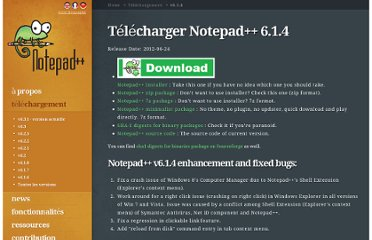 http://notepad-plus-plus.org/fr/download/v6.1.4.html