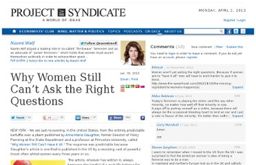 http://www.project-syndicate.org/commentary/why-women-still-can-t-ask-the-right-questions