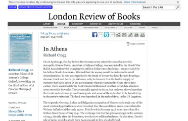 http://www.lrb.co.uk/v34/n13/richard-clogg/in-athens