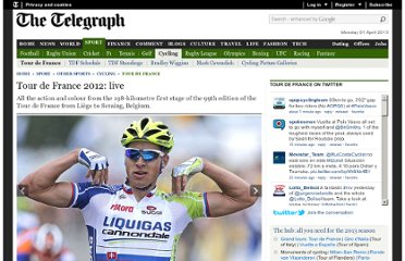 http://www.telegraph.co.uk/sport/othersports/cycling/tour-de-france/9367944/Tour-de-France-2012-live.html