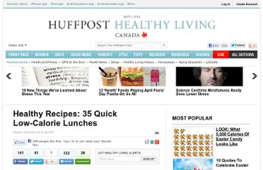 http://www.huffingtonpost.com/2012/07/01/healthy-recipes-quick-low-calorie-lunches_n_1638315.html