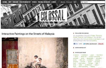 http://www.thisiscolossal.com/2012/07/interactive-paintings-on-the-streets-of-malaysia/