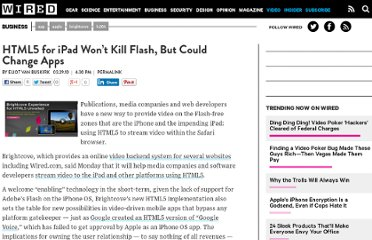 http://www.wired.com/business/2010/03/html5-for-ipad-wont-kill-flash-but-could-change-apps/