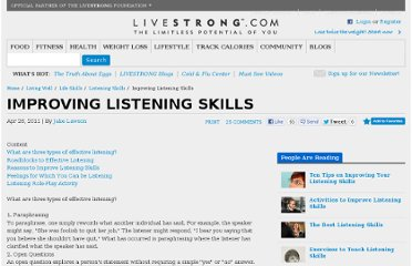 http://www.livestrong.com/article/14657-improving-listening-skills/