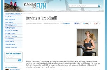 http://www.runningforfun.co.uk/buyingatreadmill.html