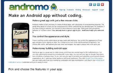 http://andromo.com/features