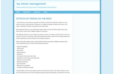 http://mystressmanagement.net/articles/effectsofstressonthebody.html