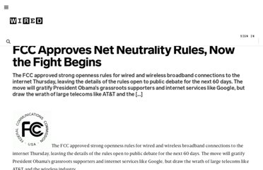 http://www.wired.com/business/2009/10/fcc-net-neutrality/