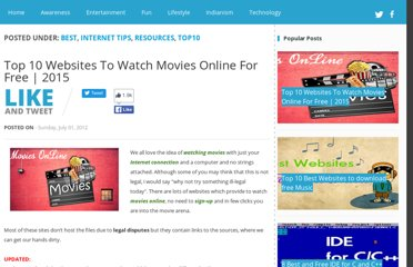 http://www.wtfdiary.com/2012/07/top-10-websites-to-watch-movies-online.html