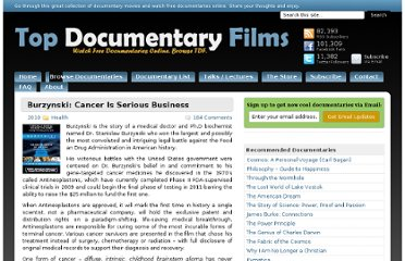 http://topdocumentaryfilms.com/burzynski-the-movie-cancer-is-serious-business/