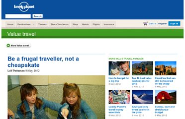 http://www.lonelyplanet.com/themes/value-travel/be-a-frugal-traveller/?affil=twit