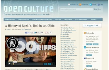 http://www.openculture.com/2012/07/a_history_of_rock_n_roll_in_100_riffs_.html