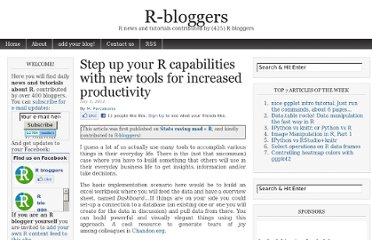 http://www.r-bloggers.com/step-up-your-r-capabilities-with-new-tools-for-increased-productivity/