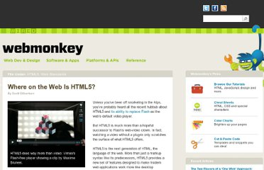 http://www.webmonkey.com/2010/05/where-on-the-web-is-html5/